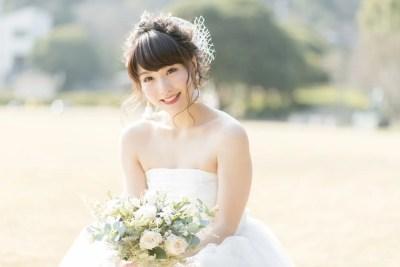 花嫁となった女性