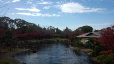 行船公園の平成庭園と源心庵