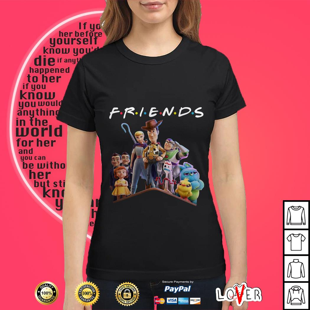 Toy Story 4 Friends Character Logo Party Shirt Hoo