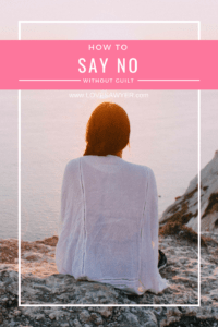 When we should say 'no'