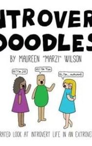 INTROVERT BOOKS introvert doodles by Maureen 'Marzi' Wilson