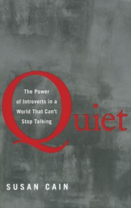 Introvert Books Quiet by Susan Cain