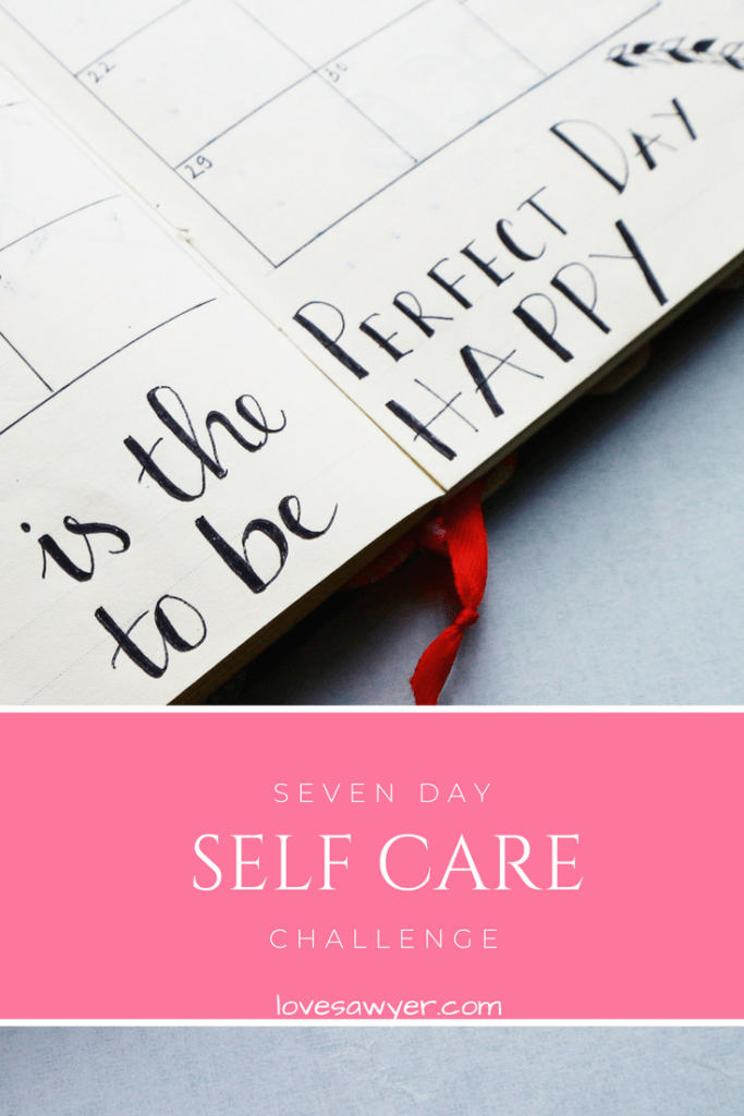 Seven day self care challenge