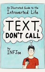 introvert books text don't call