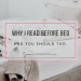 Why I read before bed and you should too