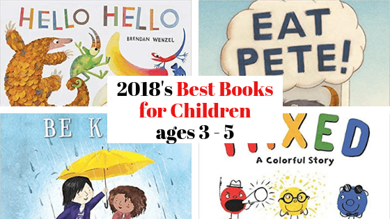 Best Books for kids ages 3 to 5