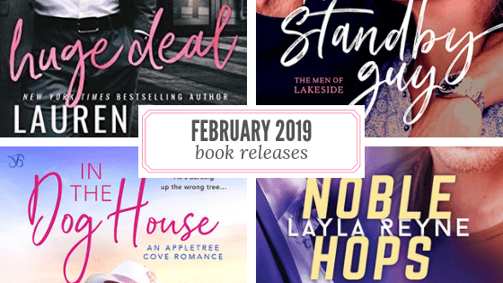 February 12, 2019 book releases