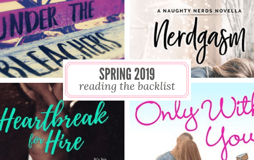Spring 2019 Reading List Backlist