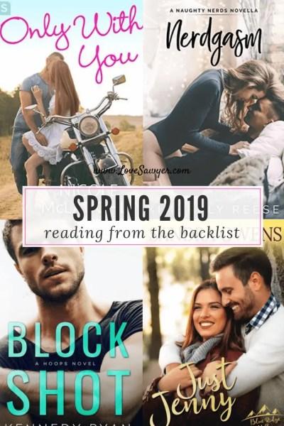 Spring 2019 Reading List Backlist