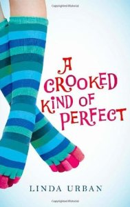 books for girls who don't like to read a crooked kind of perfect by linda urban
