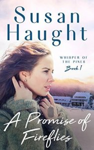 Romance novels featuring older couples A Promise of Fireflies by Susan Haught