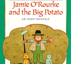 St. Patrick's day books for kids jamie o'rourke and the big potato