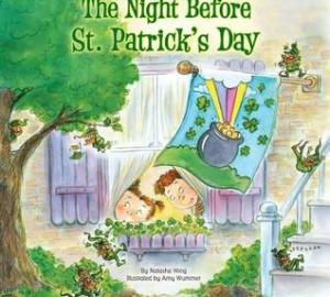 st. Patrick's day books for kids the night before st. patrick's day by natasha wing
