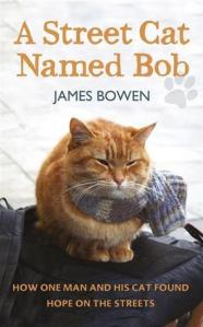 Books for cat lovers a street cat named bob by james brown