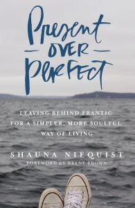 Self Care Books to read: Present Over Perfect
