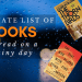 Books to Read on Rainy Day