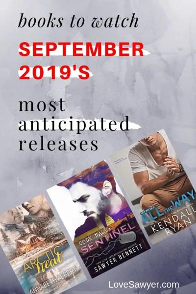 September 2019 new book releases