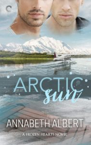 2019's must read gay romance novels Arctic Sun by Annabeth Albett