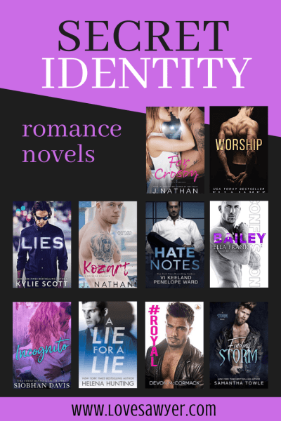 Secret Identity Romance Novels