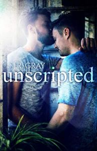 Movie Star Romance Unscripted by J.R. Gray