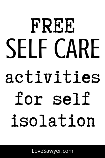 Free and easy ways to practice self care