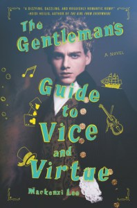 Young adult LGBT novels The Gentlemans guide to vice and virtue by mackenzie lee