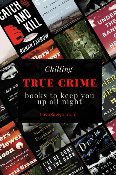 True crime books - you might never sleep again