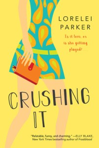 Most anticipated romantic releases of june 2020 Crushing It by Lorelei Parker