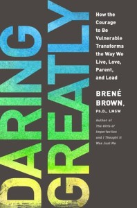 Book list for single people Daring Greatly by Brene Brown