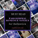 Paranormal Romance Novels to read for Halloween