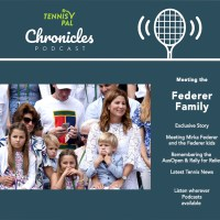 Meeting Roger Federer's Family Mirka and the Fedkid twins Podcast