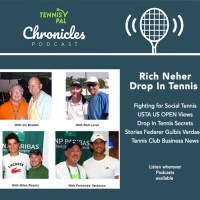 "Rich Neher shares ""Drop In Tennis Secrets"" and USTA US OPEN views in Tennis Club Business News"