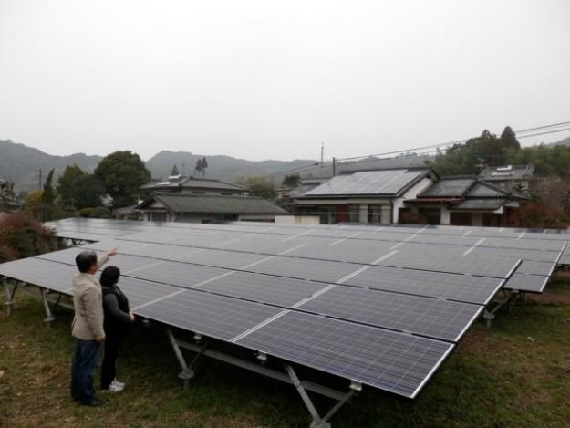 P3010077 1 - 太陽光発電所で夫婦なかよく撮影!