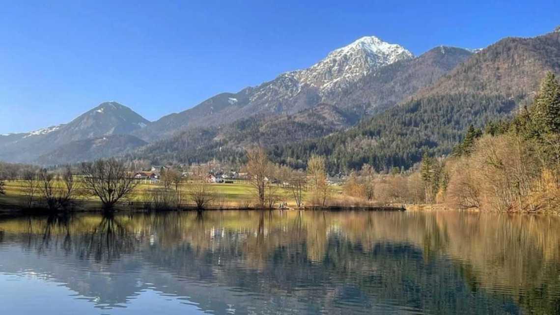 Озеро Чрнава Словения
