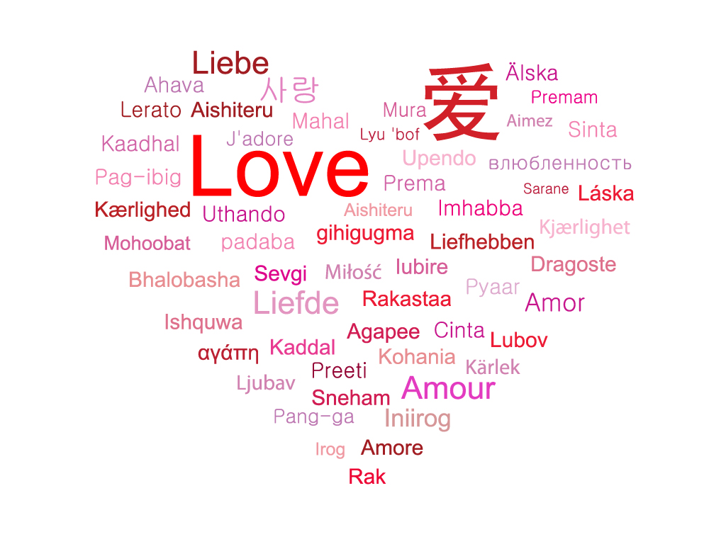 How to say 'I Love You' In 15 Different Languages?