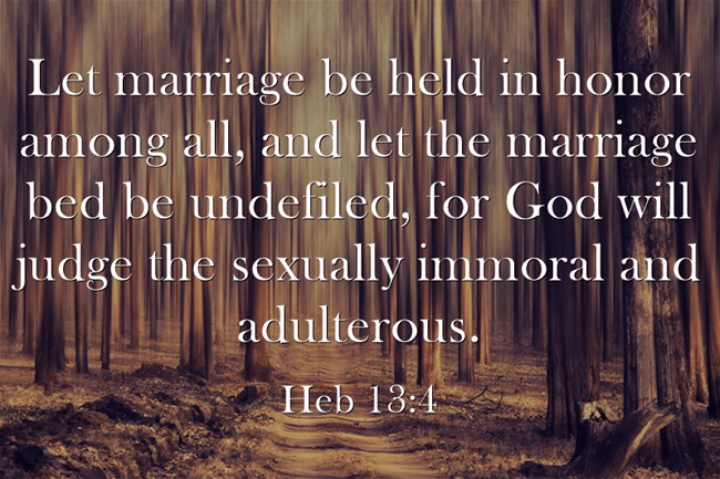 adultery and bible