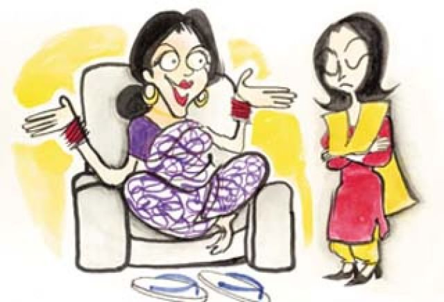 Indian mother in law story