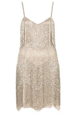 Vestido de Flecos de Colección SS 2014 Kate Moss para Topshop