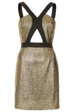 Vestido Pata de Gallo de Topshop