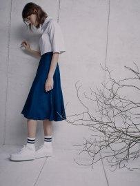Pull & Bear Lookbook Blue Woman