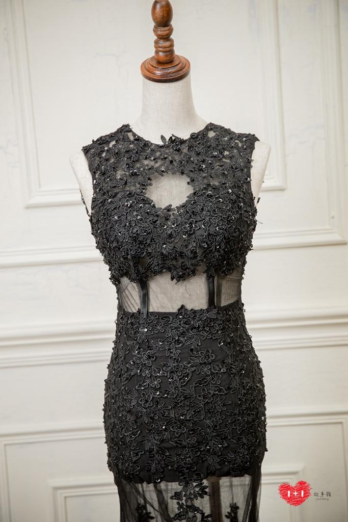 手工婚紗推薦:耀眼的銀河晚禮服