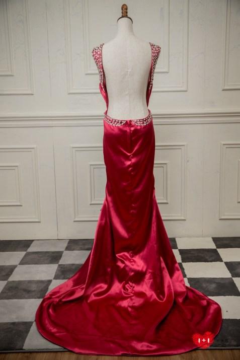 手工婚紗:盛開綻放的花朵晚禮服