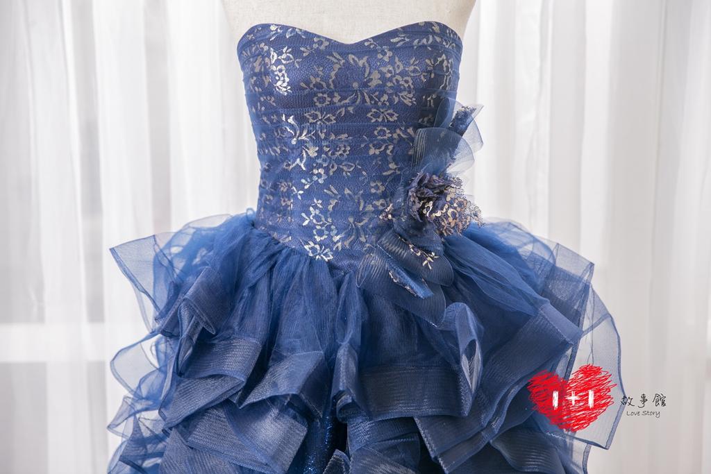 手工婚紗:春霓的晚禮服
