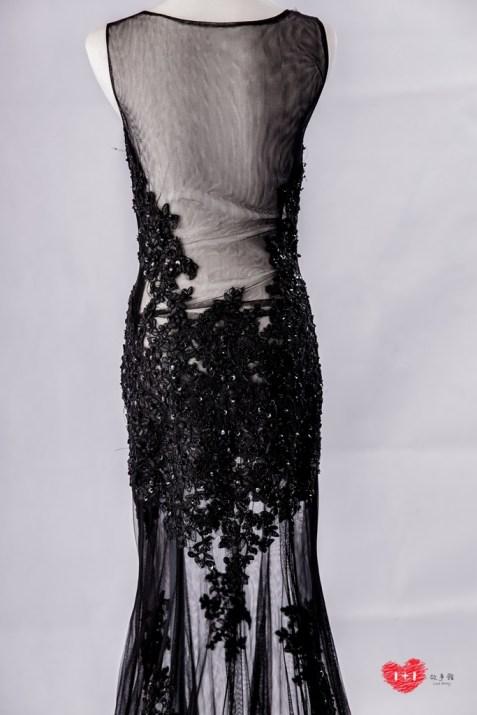手工婚紗:時尚加冕女王晚禮服