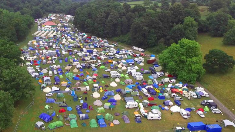 Festival | Aerial Shot | Love Summer | Devon | Plymouth
