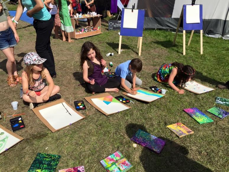 Love Summer Festival - Workshops - Art 20