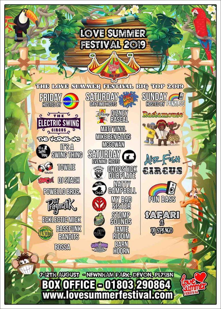 Love Summer Festival | Devon | Family Fun | Glamping | Festival | Southwest | Big Top | Family Fun | PL75BN