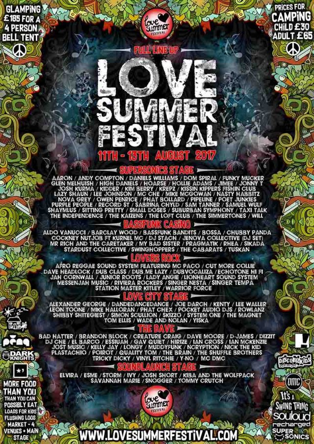 Love Summer Festival | Festival | Devon | Plymouth ! 2017