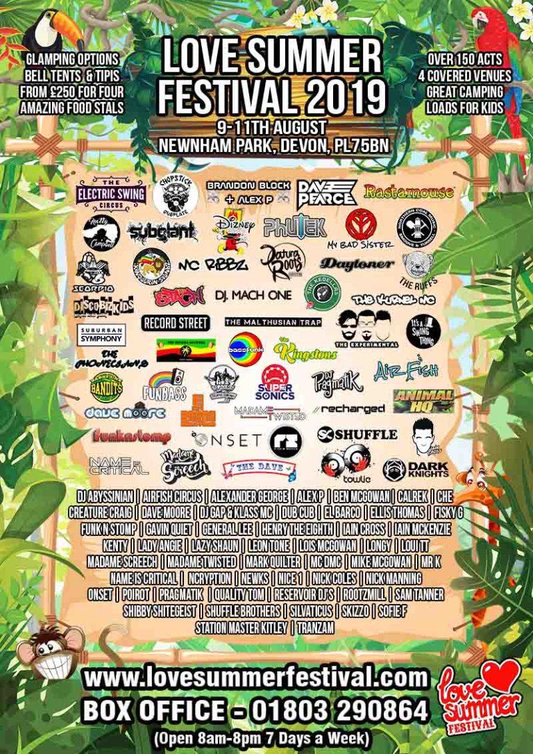 Love Summer Festival 2019 | Full Line Up