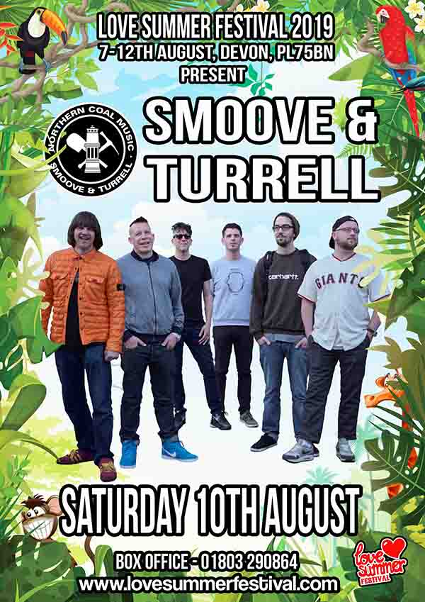 Love Summer Festival 2019 | Smoove and Turrell Flyer